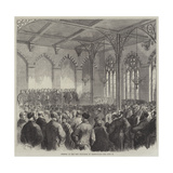 Opening of the New Exchange at Birmingham Giclee Print