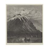 New Volcano on Camiguin Island, Mindanao, Philippines Giclee Print