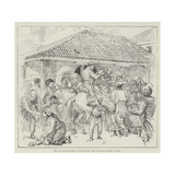 The War Between Servia and Bulgaria, the Provision Stores at Pirot Giclee Print