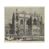 Exterior of the Keble College Memorial Chapel at Oxford Giclee Print