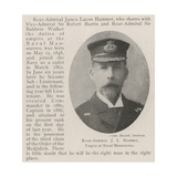 Rear-Admiral J L Hammet, Umpire at Naval Manoeuvres Giclee Print