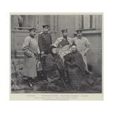 Royal Group Taken at Palais Edinburgh, Coburg Giclee Print