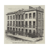 The London Homoeopathic Hospital, Great Ormond-Street Giclee Print