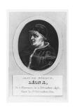 Pope Leo X, Giovanni Di Lorenzo De Medici Giclee Print