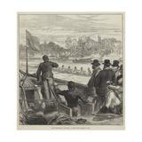 The Universities' Boat-Race, Coaching the Cambridge Crew Giclee Print