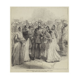 Ceremony Performed by Native Girls at the Prince's Landing, Bombay Giclee Print