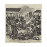 The Ashantee War, the Market-Place at Coomassie Giclee Print
