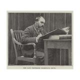 The Late Professor Robertson Smith Giclee Print