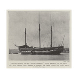The Old Royal Yacht Royal George, to Be Broken Up or Sold Giclee Print