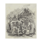 Anti-Rent Insurrection, Attack on the Sheriff of Albany Giclee Print