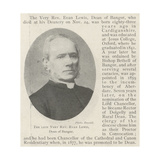 The Late Very Reverend Evan Lewis, Dean of Bangor Giclee Print