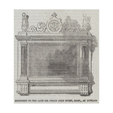 Monument to the Late Sir Josiah John Guest, Baronet, at Dowlais Giclee Print