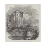 Raglan Castle, on the Abergavenny Road into Wales Giclee Print