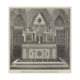 Afghan War Memorial in St John's Church, Colaba, Bombay Giclee Print
