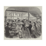 The Dramatic College Fete at the Crystal Palace Giclee Print