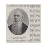 The Reverend W Hay M H Aitken, New Canon of Norwich Giclee Print