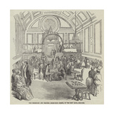 The Berkshire and Reading Chess-Club Soiree, in the New Hall, Reading Giclee Print