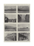 The Volcanic Disasters, Scenes in Martinique, St Vincent, and St Lucia Giclee Print