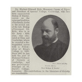 Canon Ryle, New Bishop of Exeter Giclee Print
