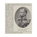Captain a K Bickford, Promoted Rear-Admiral Giclee Print