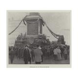 Trafalgar Day in Trafalgar Square Giclee Print