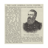 The Late Admiral David Porter Giclee Print