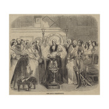 The Royal Christening Giclee Print