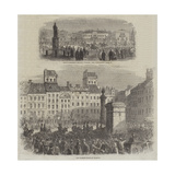 Scenes of Warsaw Giclee Print