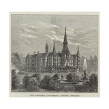 The Western University, London, Ontario Giclee Print