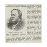 The Reverend E Herber Evans Giclee Print