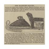 Her Majesty's Skates Giclee Print