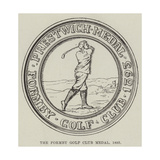 The Formby Golf Club Medal, 1893 Giclee Print