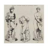 Marble Statues Found in Windsor Forest Giclee Print