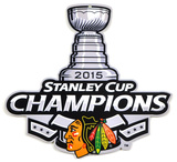 Chicago Blackhawks 2015 Stanley Cup Champions Steel Logo Sign Wall Sign