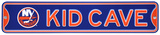 New York Islanders Steel Kid Cave Sign Wall Sign