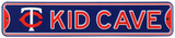 Minnesota Twins Steel Kid Cave Sign Wall Sign