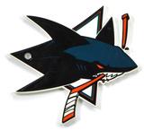 San Jose Sharks Steel Magnet Magnet