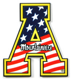 Appalachian State Mountaineers Heroe's Day Steel Magnet Magnet
