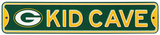 Green Bay Packers Steel Kid Cave Sign Wall Sign