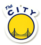 Golden State Warriors The City Logo Steel Magnet Magnet