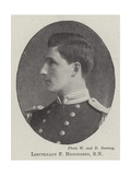 Lieutenant F Henderson Giclee Print