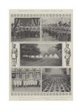 Coronation Guests at Alexandra Palace Camp Giclee Print