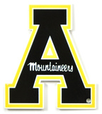 Appalachian State Mountaineers Steel Magnet Magnet