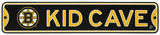 Boston Bruins Steel Kid Cave Sign Wall Sign