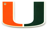Miami Hurricanes Steel Magnet Magnet