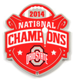 Ohio State Buckeyes 2014 Champions Steel Magnet Magnet