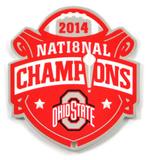 Ohio State Buckeyes 2014 Champions Steel Magnet Magnet