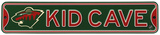 Minnesota Wild Steel Kid Cave Sign Wall Sign