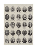Members Who Did Not Sit in the Last Parliament Giclee Print