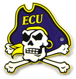 East Carolina Pirates Steel Magnet Magnet